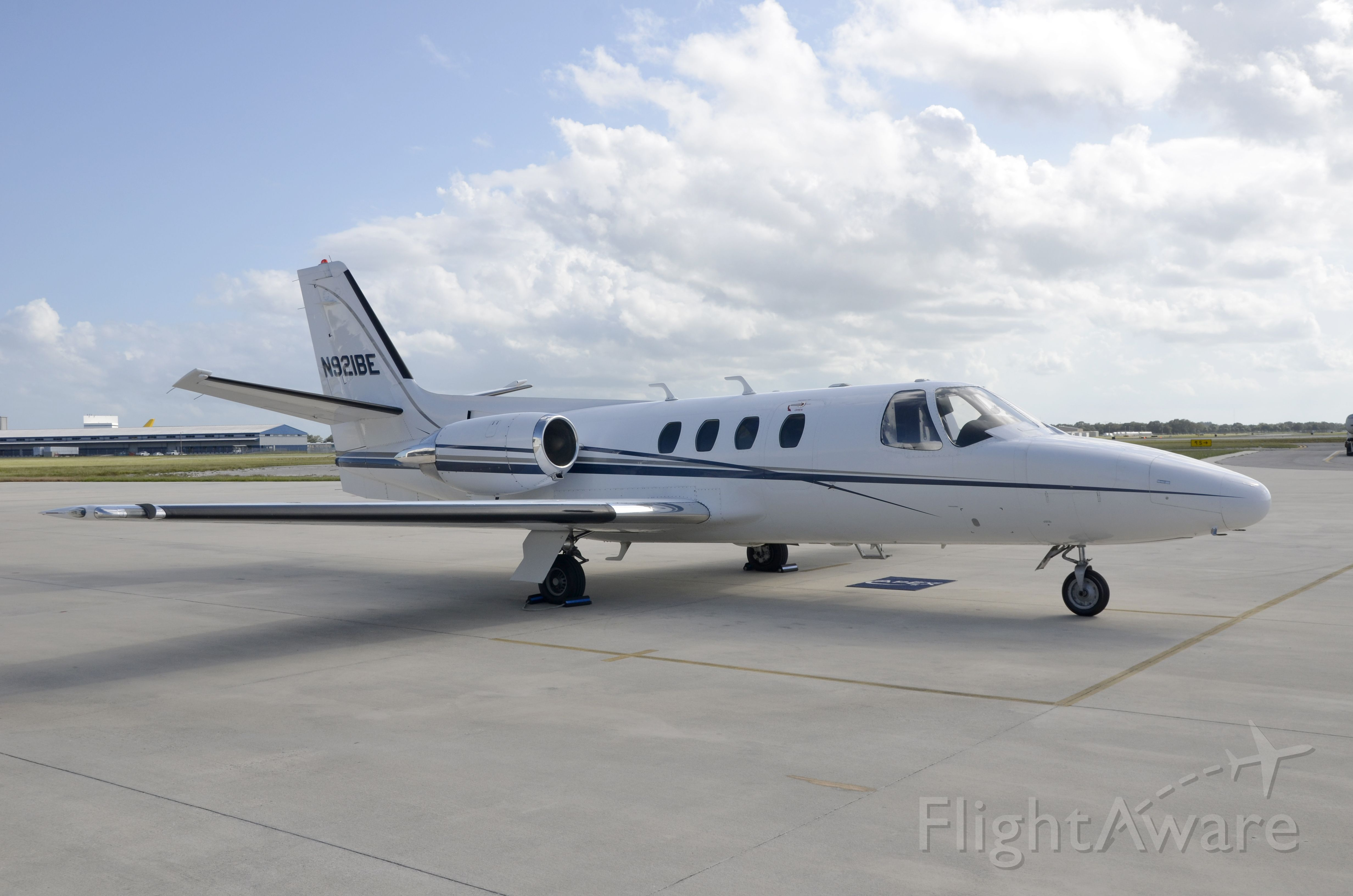Cessna Citation 1SP (N921BE) - Photographing my latest listing - this gorgeous 1/SP is for sale!