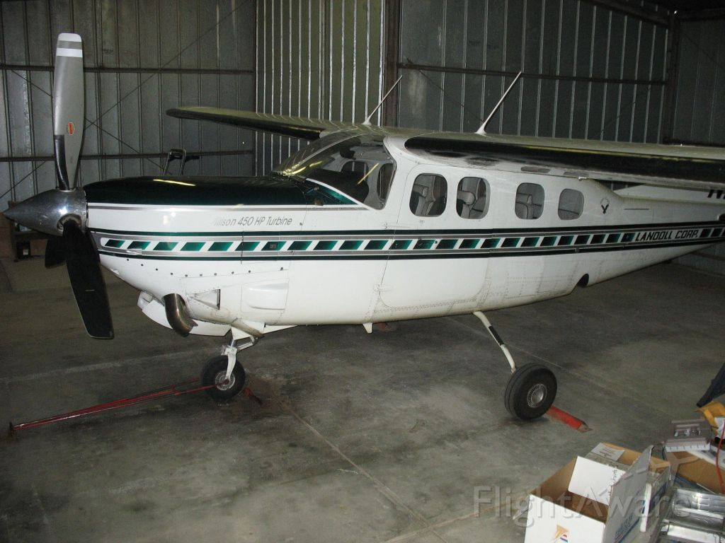 Cessna Centurion (N93LC) - Silver Eagle