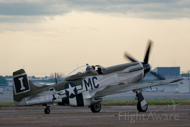 """North American P-51 Mustang (N74190) - """"Happy Jack's Go Buggy"""" at the Heart of Texas Airshow in Waco, April 7th 2019."""