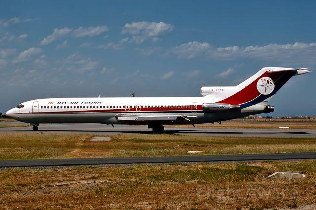 G-BPNS — - DAN - AIR LONDON - BOEING 727-277 - REG : G-BPNS (CN 20550/1030) - ADELAIDE INTERNATIONAL AIRPORT SA. AUSTRALIA - YPAD (10/12/1989)On lease to during the Airline Pilots dispute. This 727 was VH-RMW