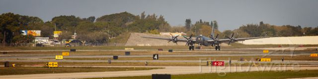 Boeing B-29 Superfortress (N529B) - This is Fifi lifting off from Sarasota Bradenton International Airport in Florida