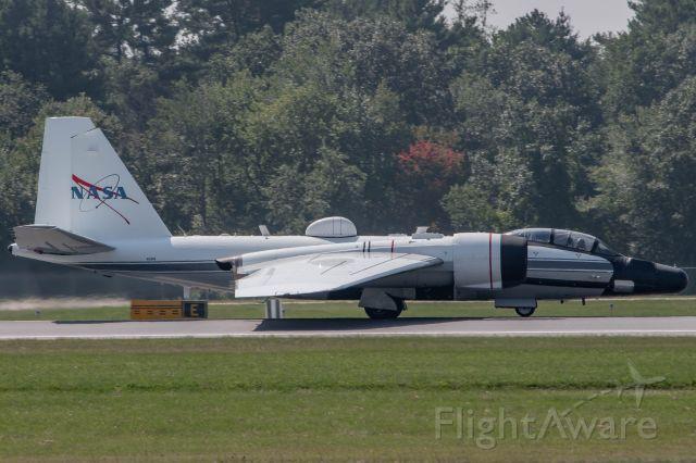 Martin WB-57 (N926NA) - NASA926 departing rwy 29 at KBED