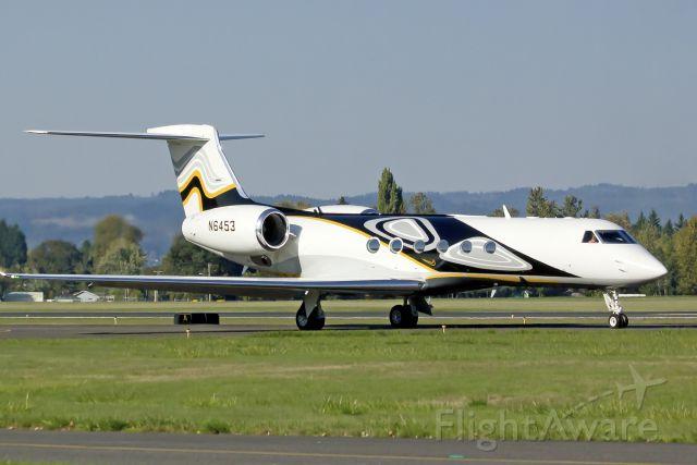 Gulfstream Aerospace Gulfstream V (N6453) - Nike Air!  10-6-13
