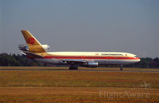 McDonnell Douglas DC-10 (N68042) - Departure at Narita Intl Airport Rwy16 on 1988/11/03