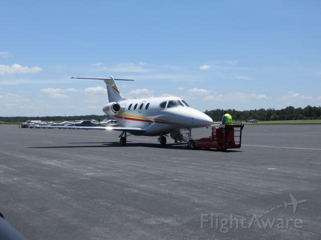 Beechcraft Premier 1 (N54VM) - Ready for departure!