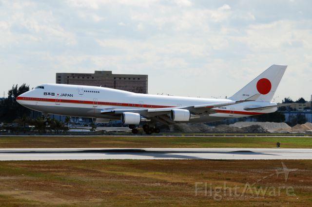 Boeing 747-400 (20-1101)