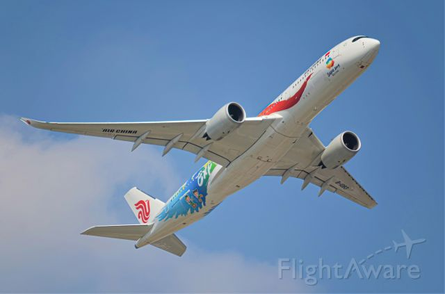 Airbus A350-900 (B-1083) - Thanks for view and give me 5 star please