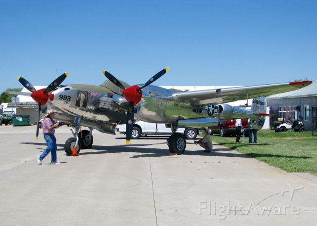 Lockheed P-38 Lightning (N3800L) - At AirVenture.