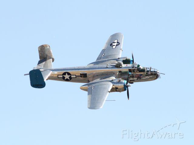 "North American TB-25 Mitchell (4428938) - California Capital Air Show Oct 3, 2015.br /B-25J (44-28938) ""Old Glory"""