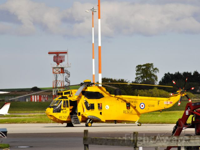 EXY590 — - Royal Air Force Westland WS-61 Sea King HAR3 XZ590 in Inverness, Scotland