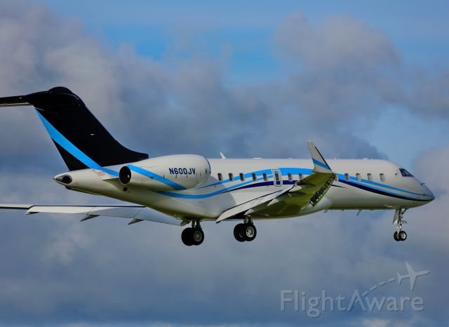 Bombardier Global Express (N600JV)