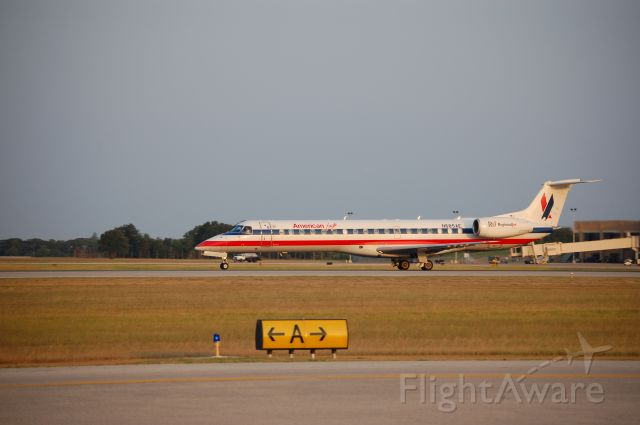 Embraer ERJ-135 (N685AE) - Early Morning departure out of College Station