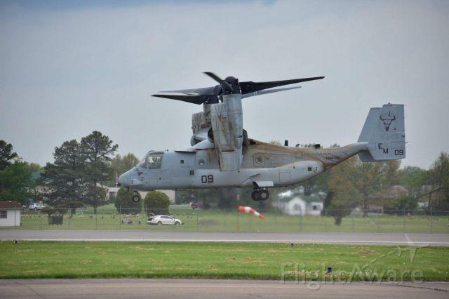 Bell V-22 Osprey — - Osprey lifting off