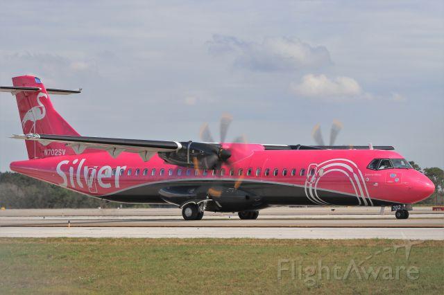 "ATR ATR-72 (N702SV) - ""Bahama Mama"" departs on February 19, 2020"