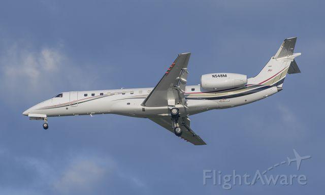 Embraer ERJ-135 (N548M) - Runway 20R arrival @KDPA.
