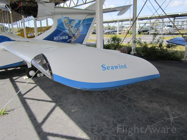 Experimental  (N136WB) - CLEARWATER AIRPARK, CLEARWATER, FL, USA  02.22.2013
