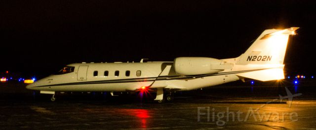 Learjet 60 (N202N) - N202N, stopping off at KPOU before continuing onto New Hampshire...