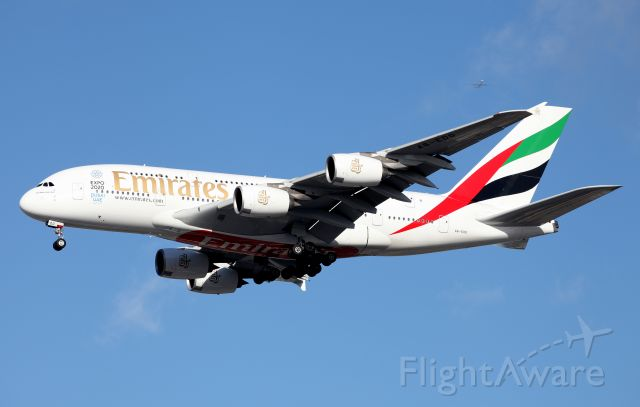 Airbus A380-800 (A6-EDD) - Short Final To Rwy 16R