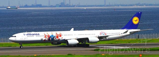 Airbus A340-600 (D-AIHK)