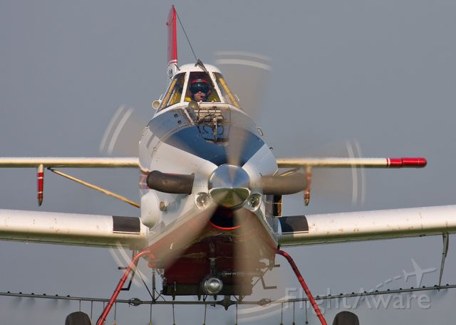 N41647 — - I noticed that whenever I showed the pilot a picture that I took, he would zoom in on the cockpit.  I decided that I would make things easy for him.  I used a Canon 40D with 100-400mm IS 5.6 lens.  I believe I used a 1/400 exposure.