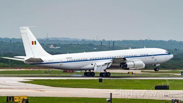 Boeing 707-300 (N707GF) - 13R arrival.br /4/7/20