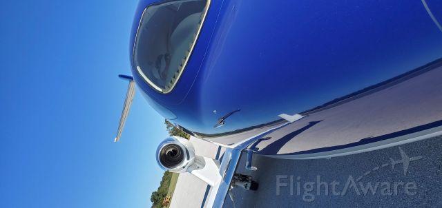 N124HJ — - Hondajet engine runs