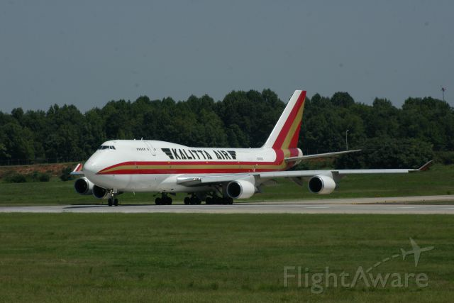 Boeing 747-200 (N740CK) - Kalitta Airlines heading for North Korea, Aug. 1,2010