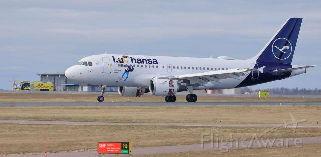 Airbus A319 (D-AILU) - Lufthansa (Lu Sticker)