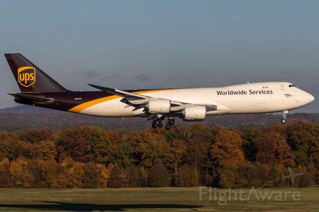 BOEING 747-8 (N616UP) - N616UP - Boeing 747-8F - United Parcel Service (UPS)