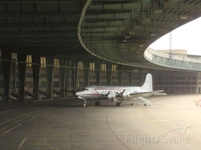 Douglas C-54 Skymaster (N5557) - Tempelhof memories