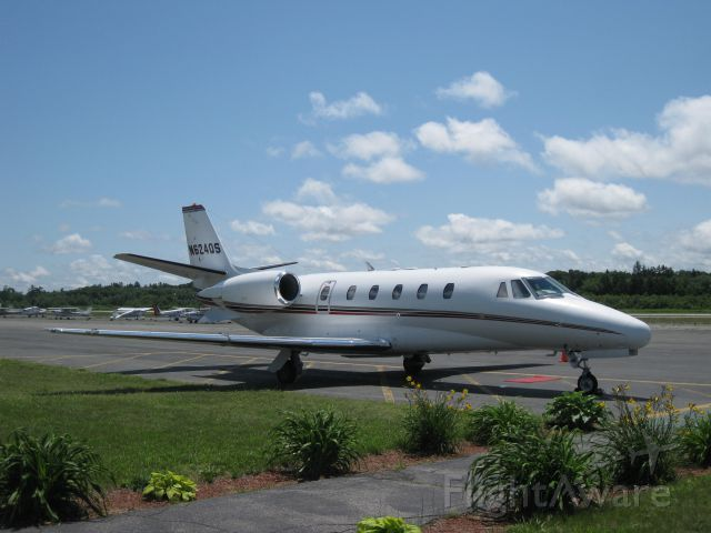 Cessna Citation Excel/XLS (EJA624) - Arrived 45 minutes early from White Plains, NY (KHPN).