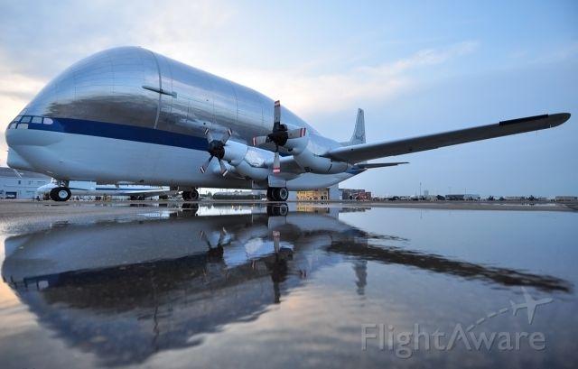 Aero Spacelines Super Guppy (NASA941) - NASA Super Guppy Transport plane