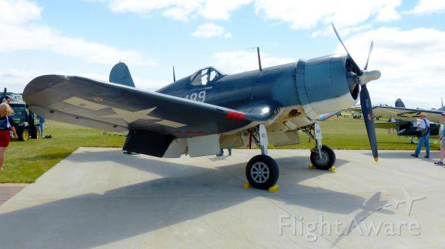 — — - F-4U Corsair