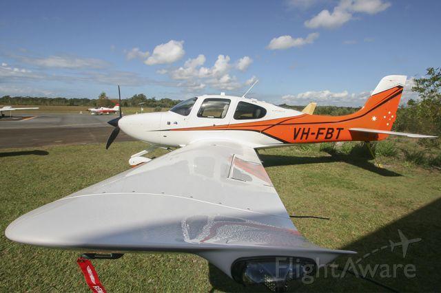 Cirrus SR-22 (VH-FBT) - Cirrus Sunshine Coasts SR22 Australis