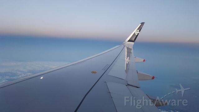 Airbus A320 (ZK-OXB) - Early morning departure from Auckland to Christchurch.