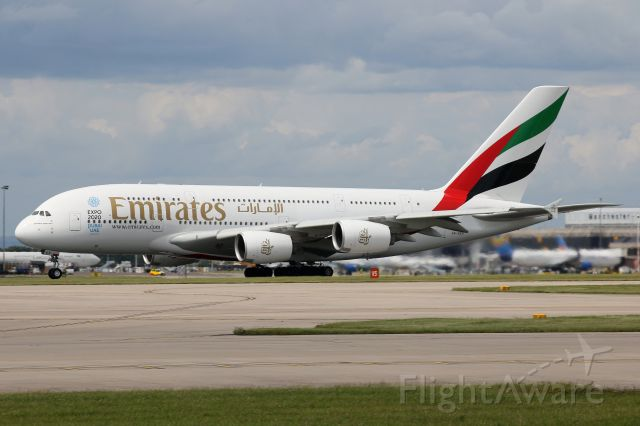 Airbus A380-800 (A6-EES)