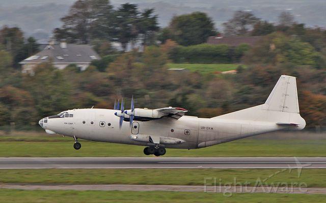 Antonov An-12 (UR-CKM) - cavok air an-12bp ur-ckm dep shannon 30/9/18.