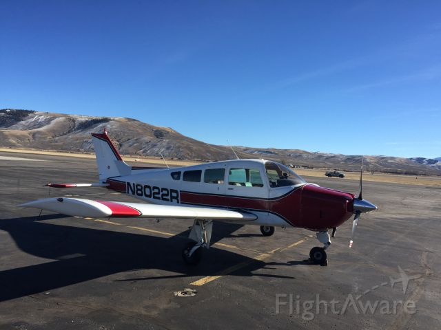 Beechcraft Sundowner (N8022R) - Gunnison Colorado