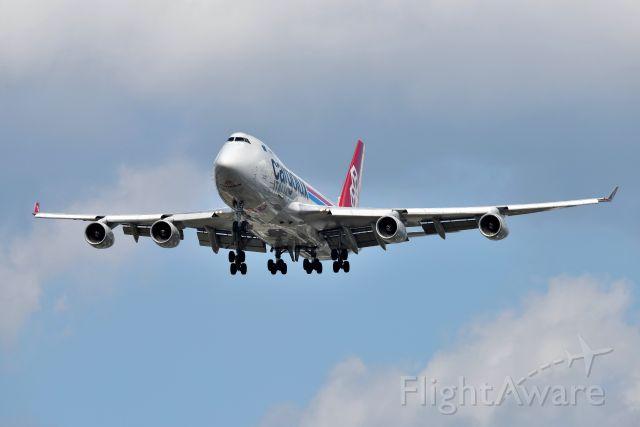 Boeing 747-400 (LX-UCV) - 23-L 09-17-21