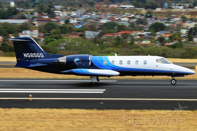 """Learjet 35 (WML35) - WML35 """"Marlin 35"""" heading to SRQ after a few days stay in SJO."""