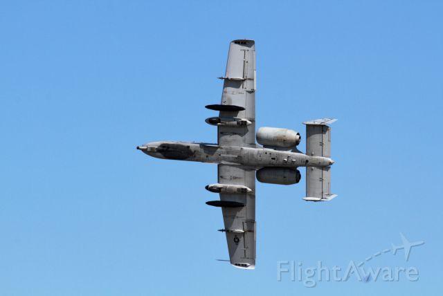 Fairchild-Republic Thunderbolt 2 — - A-10 Demo near the south end of 36/18