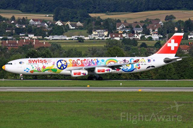 Airbus A340-300 (HB-JMJ)