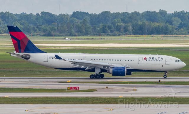 Airbus A330-200 (N853NW) - Delta 87 arrives home from Frankfurt