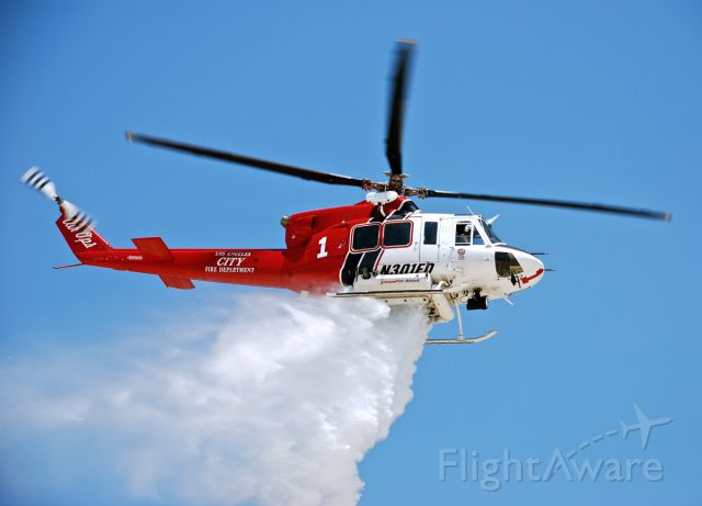 Bell 412 (N301FD)