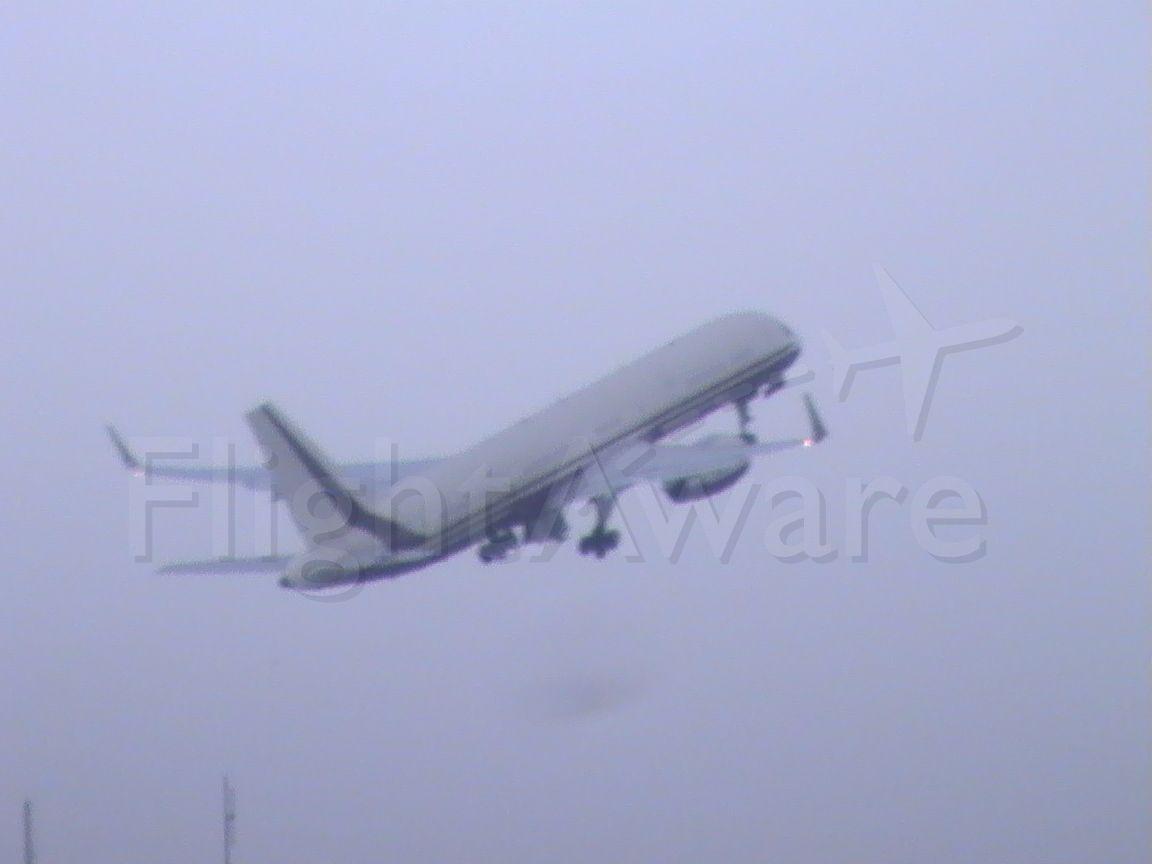 Boeing 757-200 (N770BB) - Private 757 departing Springfield