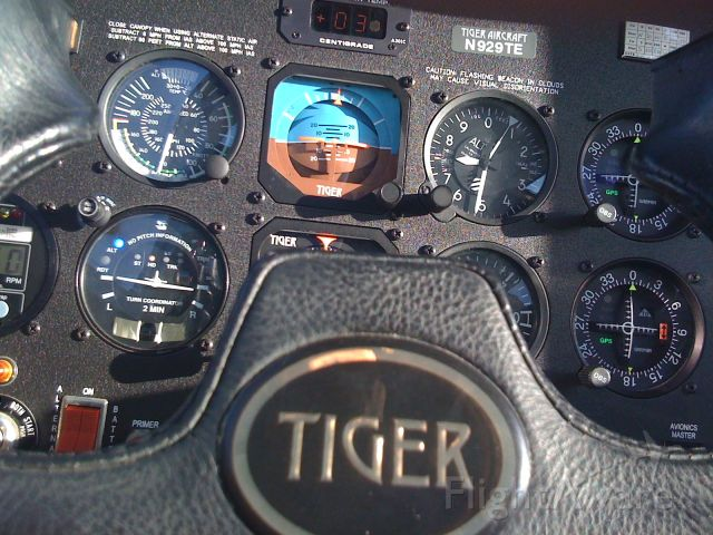 Grumman AA-5 Tiger (N929TE) - Panel Shot