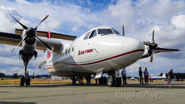 De Havilland Canada Dash 7 (C-GFFL) - YXX-YVR Abbotsford Airshow Charter.
