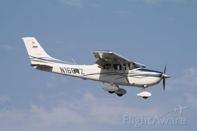 Cessna Skylane (N1684Z) - Landing at John Wayne Airport, July 17 2018.