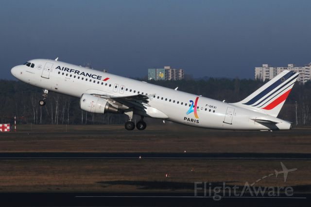 Airbus A320 (F-GKXI) - Olympic Games Paris 2024 sticker