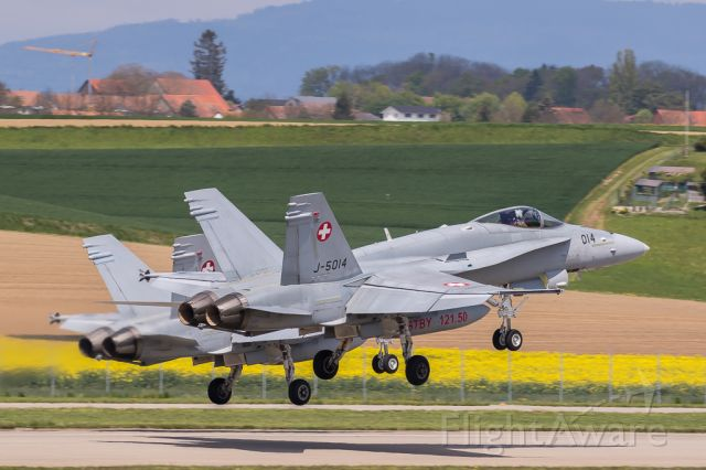 McDonnell Douglas FA-18 Hornet (J5014) - Swiss Airforce - F/A-18C Hornet